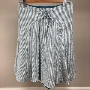 Viola Seersucker Skirt